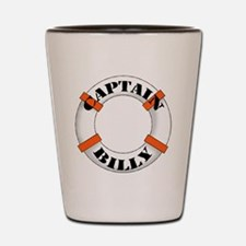 Captain Billy Shot Glass