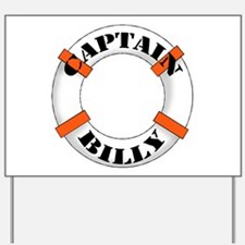 Captain Billy Yard Sign