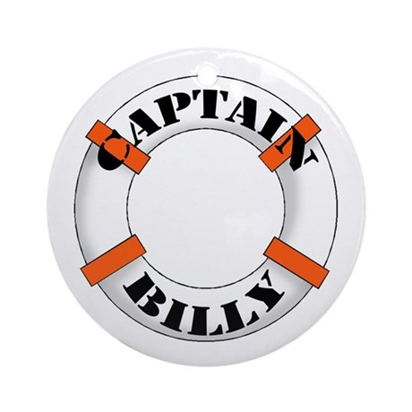 Captain Billy Ornament (Round)