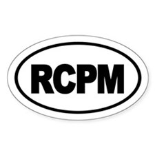 RCPM sticker Decal