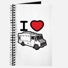 I Love Food Trucks! Journal