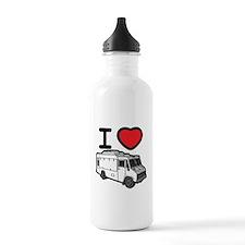 I Love Food Trucks! Water Bottle