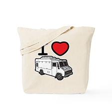 I Love Food Trucks! Tote Bag