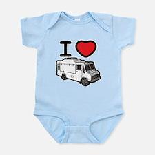 I Love Food Trucks! Infant Bodysuit