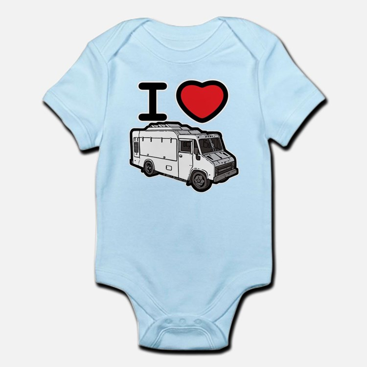 I Love Food Trucks! Infant Bodysuit