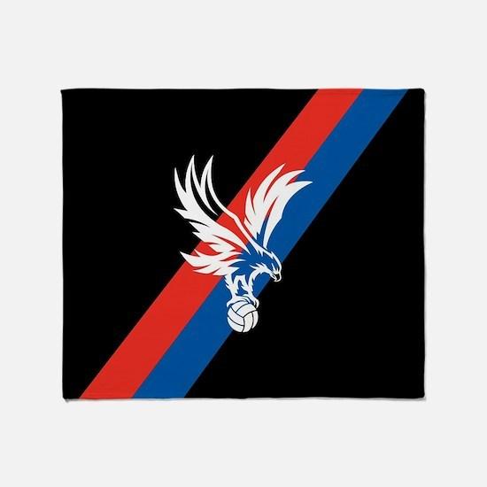 Crystal Palace FC Eagle Stripe Throw Blanket