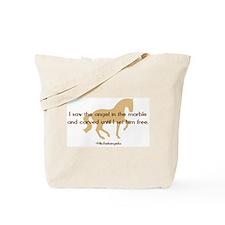 Michelangelo angel sayings - horse Tote Bag