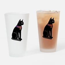 Egyptian Cat Goddess Bastet Drinking Glass