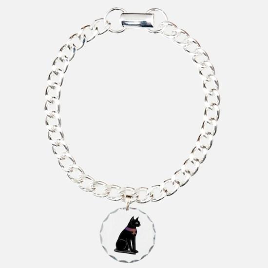 Egyptian Cat Goddess Bastet Bracelet