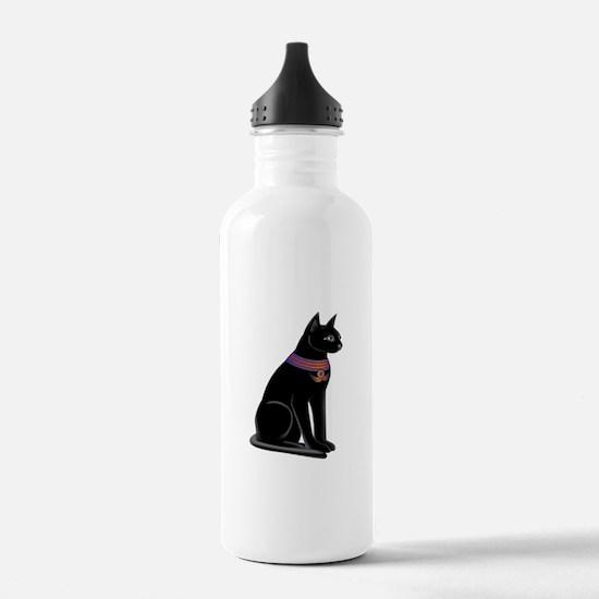 Egyptian Cat Goddess Bastet Water Bottle