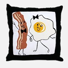 Bacon 'N Egg Lover Throw Pillow