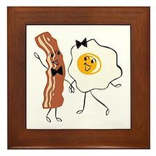 Bacon 'N Egg Lover Framed Tile