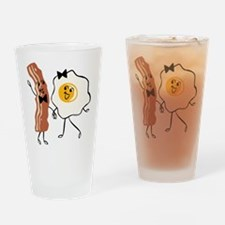 Bacon 'N Egg Lover Drinking Glass