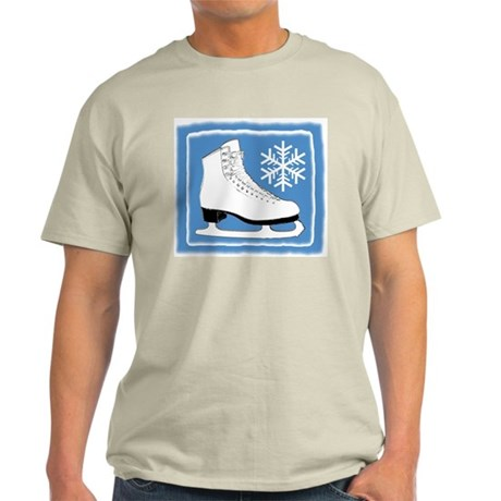 Bright Blue Ice Skate Light T-Shirt