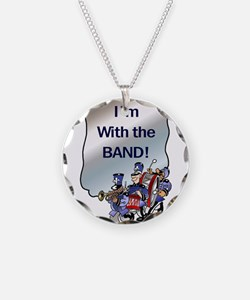 I'm With the Band Necklace