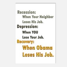 Recovery Definition Postcards (Package of 8)