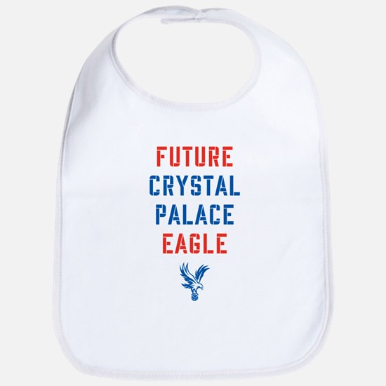 Future Crystal Palace Eagle Cotton Baby Bib