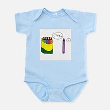 Box of Crayons Infant Bodysuit