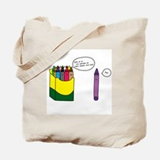 Box of Crayons Tote Bag