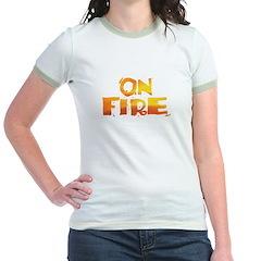 ON FIRE Jr. Ringer T-Shirt