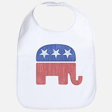 Old Republican Elephant Bib