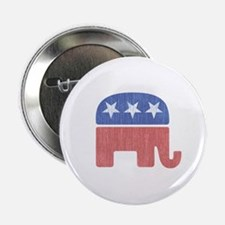 "Old Republican Elephant 2.25"" Button"