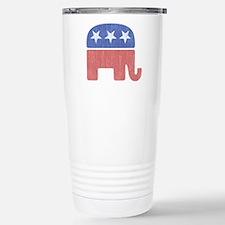 Old Republican Elephant Travel Mug