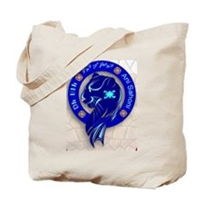 Blue Holly Clan Tote Bag