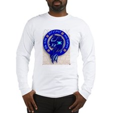 Blue Holly Clan Long Sleeve T-Shirt