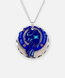 Blue Holly Clan Necklace