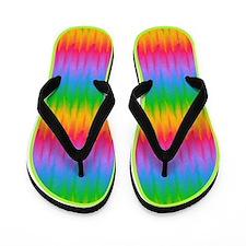 Gay Lesbian Pride Rainbow Flip Flops