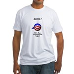 Bowling Is A Right Fitted T-Shirt