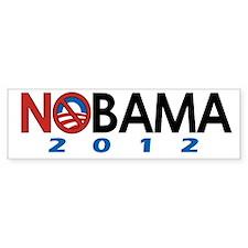 NObama 2012, Anti-Obama Bumper Bumper Sticker