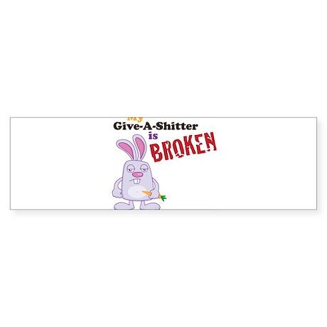 Sticker (Bumper)