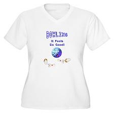 Bowling Feels Good T-Shirt