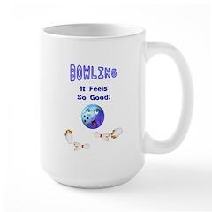 Bowling Feels Good Mug