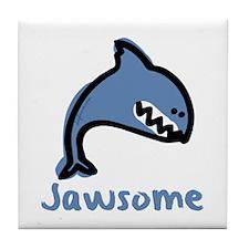 Jawsome Tile Coaster