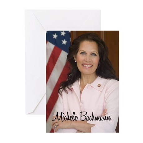 Michele Bachmann Picture Greeting Cards (Pk of 10)