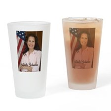 Michele Bachmann Picture Drinking Glass