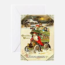 Santa 16 Vintage Christmas Greeting Card