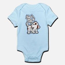 Ask Me About (Dogs) Infant Bodysuit