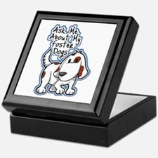 Ask Me About (Dogs) Keepsake Box