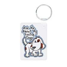 Ask Me About (Dogs) Keychains