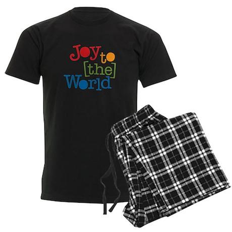 Joy to the World Men's Dark Pajamas