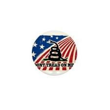 Dont Tread on Me American Fla Mini Button (10 pack