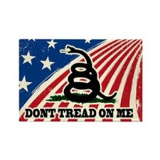 Dont Tread on Me American Fla Rectangle Magnet