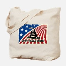 Dont Tread on Me American Fla Tote Bag