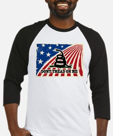 Dont Tread on Me American Fla Baseball Jersey