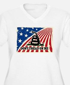 Dont Tread on Me American Fla T-Shirt