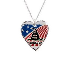Dont Tread on Me American Fla Necklace